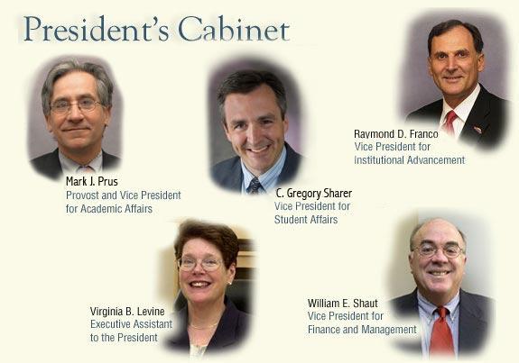 SUNY Cortland President's Cabinet